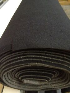 Auto Headliner Upholstery Fabric Kit With Glue 120 X 60 Black