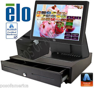 Aldelo Pro Elo Ice cream Yogurt Shop All in one Complete Pos System New