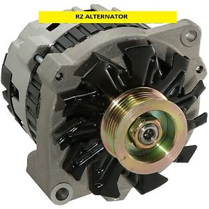 100 New Alternator Fits Chevy 220 Amp One Wire 1965 1985
