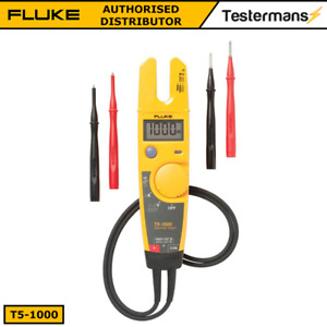 Fluke T5 1000 Voltage Continuity Current Electrical Tester 2 Years Warranty