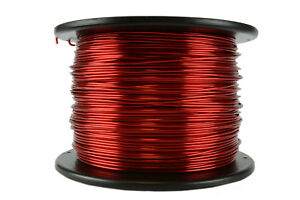 Temco Magnet Wire 14 Awg Gauge Enameled Copper 7 5lb 155c 592ft Coil Winding