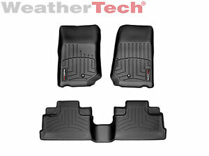 Weathertech Digitalfit Floorliner For Jeep Wrangler Unlimited 2007 2013 Black