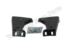 Rear Bumper Outer Brace Set New For 1988 2000 Chevy Gmc C K Pickup Old Body Type
