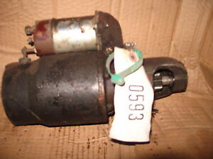 Allis Chalmers 190xt Tractor Starter Id 593