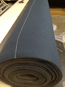 Auto Headliner Upholstery Fabric Kit With Glue 120 X 60 Dark Blue