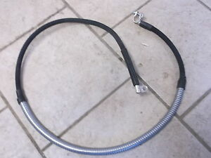 Farmall Ihc Super M Mta 400 450 Gas Diesel Battery Negative Cable