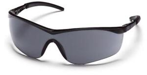 Pyramex Sb2620d Mayan Safety Glasses Black Frame With Gray Lens 12 Pair
