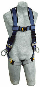 Dbi Sala 1108581 Exofit Technology Vest Style Harness With 3 D rings xl