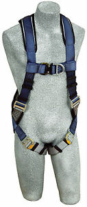 Dbi Sala 1108525 Exofit Technology Vest Style Harness With 2 D rings s