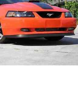 1999 2000 2001 2002 2003 2004 Mustang Mach 1 Style Chin Spoiler Free Shipping