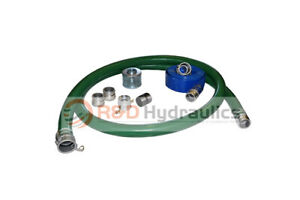 2 Green Water Suction Hose Honda Complete Kit W 25 Blue Discharge Hose