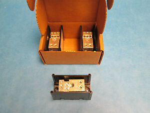 Ferraz Shawmut Power Distribution Block 67511 set Of 3 New Surplus