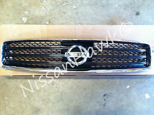 New Oem 2009 2015 Nissan Maxima Factory Grille Black Comes With Emblem