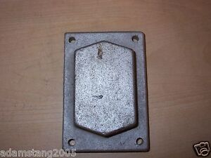Explosion Proof Single 1 Gang Outlet Box Cover 5 1 8 X 3 1 2