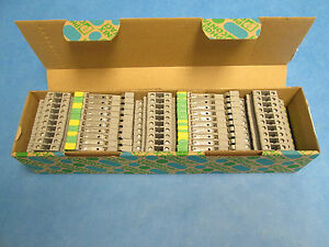 Phoenix Contact Terminal Block Dokd 1 5 tg lot Of 50 New Surplus