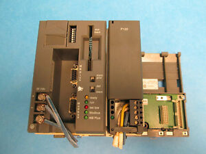 Aeg Modicon Pc a984 145 With P 120 Power Supply Module And Board Used
