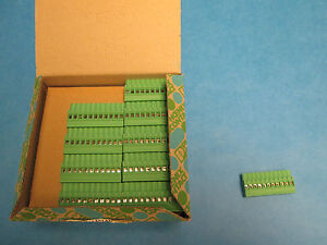 Phoenix Contact Terminal Block Mvstbw 2 5 11 st Lot Of 50 New In Box