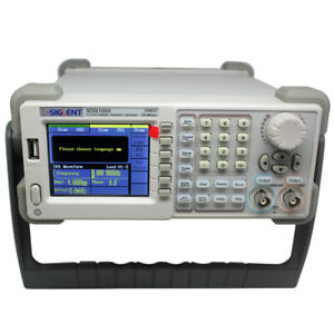 Siglent Waveform Function Generator Counter Sdg1025 Fg 2chs 25mhz 125msa s16
