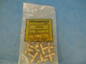 Weatherhead Fitting 1172x4x4s Lot Of 10 New In Bag