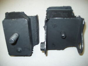 1974 Dodge Challenger 360 Engine Motor Mounts Pair