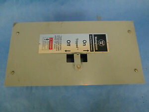 Westinghouse 100a Circuit Breaker Enclosure Ffdn100