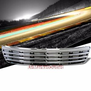 Chrome Vent Style Replacement Front Grille For 97 01 Passat B5 Typ 3b 1 8l 2 8l
