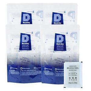100 Packets Of 30 Gram dry Dry Premium Silica Gel Desiccant Reusable