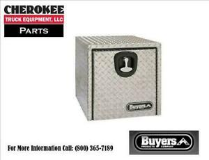 Buyers Products 1705150 Aluminum Underbody Toolbox 14 H X 12 D X 24 W