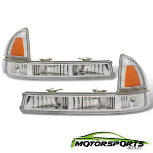 1997 2004 Dodge Dakota 1998 2003 Durango Signal Park Bumper Lights Corner Lamps