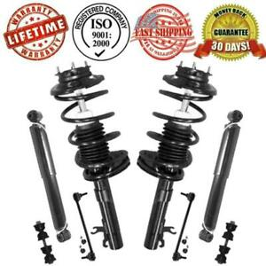 00 05 Focus Wagon Complete Struts Springs Rear Shocks Sway Bar Links 8pc
