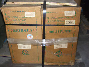 New Zoeller Double Seal Pump 1hp 460v 3 Phase 3 7 Amp 4165 0014