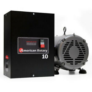 American Rotary Phase Converter Ar10 10hp 1 To 3 Three Ph Converter