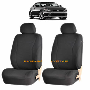 Black Ge Speed Front Lowback Seat Cover Set For Scion Tc Xb