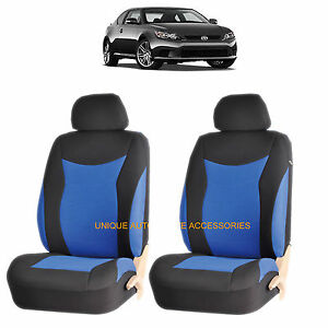 Blue Speed Front Lowback Seat Cover Set For Scion Tc Xb