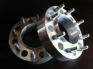 2 Ford F350 Dually Hub Centric Wheel Spacers 2 8x200 Forged Billet 2005 2019