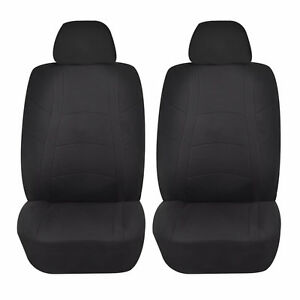 Black Racer Front Lowback Seat Cover Set For Scion Tc Xb