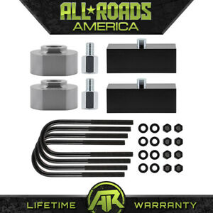 2 Front 2 Rear Full Leveling Lift Kit For 1980 1996 Ford Bronco I Ii 4wd