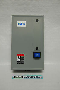 Eaton Magnetic Motor Starter 15 Hp 460 Volt Three Phase Air Compressor Parts