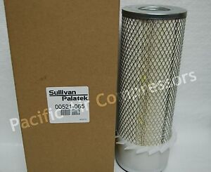 Sullivan Palatek Oem Air Filter Element Part 00521 065