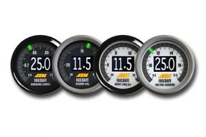 Aem Gauge Kit Digital Wideband O2 Air fuel Uego boost vacuum Failsafe 30 4900