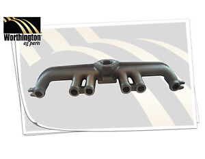 157416a Tractor Manifold 6 Cylinder Gas Exhaust Oliver Super 88 1600 1650 1655