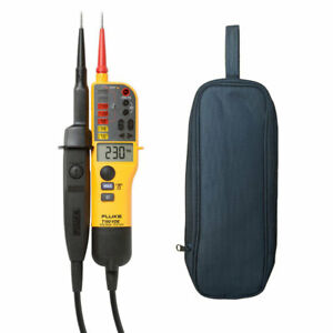 Fluke T150 2 Pole Voltage And Audible Continuity Electrical Tester