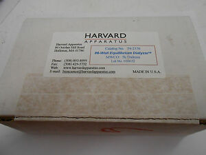 Harvard Apparatus 74 2330 96 well Equilibrium Dialyzer Mwco 5k Daltons