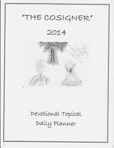 The Cosigner 2014 Devotional Topical Planner desktop Version