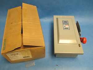 Siemens Safety Switch Hf221n 30a 240v 2p Fusible New Surplus