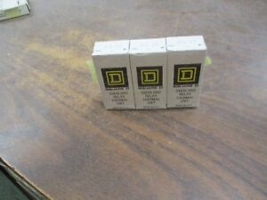 Square D B9 10 Overload Relay Thermal Unit Heater Element set Of 3 New Surplus
