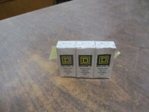 Square D B2 65 Overload Relay Thermal Unit Heater Element set Of 3 New Surplus