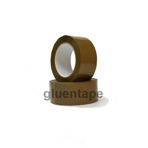 Tan Acrylic Packing Tape 2 0 Mil 2 X 330 48 Mm X 110 Yards 36 Rolls