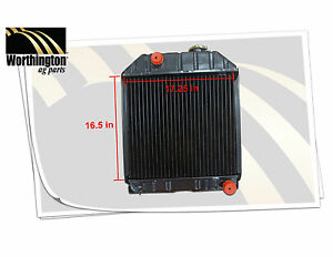 C7nn8005h Tractor Radiator Ford New Holland 2000 2100 2120 2300 2600 2610