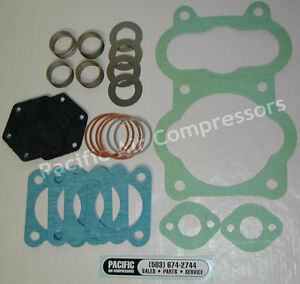Quincy Model 350 13q Head Overhaul Kit Roc 13 And Up Air Compressor K350a
